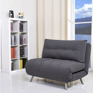 Tampa Gray Convertible Large Chair/ Bed