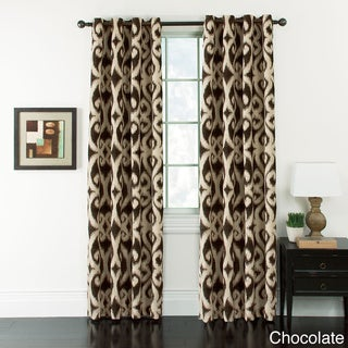 Taylor Ikat Jacquard Grommet-top Panel Pair