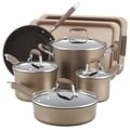 Anolon Advanced Bronze Hard Anodized Nonstick 11-Piece Cookware/ Bakeware Set