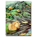 Ariane Moshayedi 'Coconut Jungle' Canvas Art