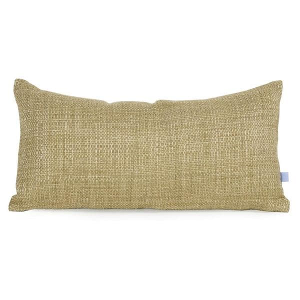 Coco Peridot Textured Kidney Pillow