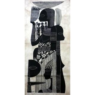 Ashanti Women Heidi Lange Screen Print (Kenya)