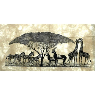 African Wildlife Heidi Lange Screen Print (Kenya)