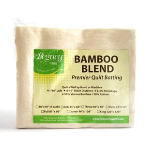 Legacy Queen-size Bamboo/ Cotton Blend Batting with Scrim