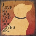 Jo Moulton 'Dog Love' Paper Print (Unframed)