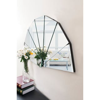 Furniture of America Fiona Modern Hanging Fan Mirror