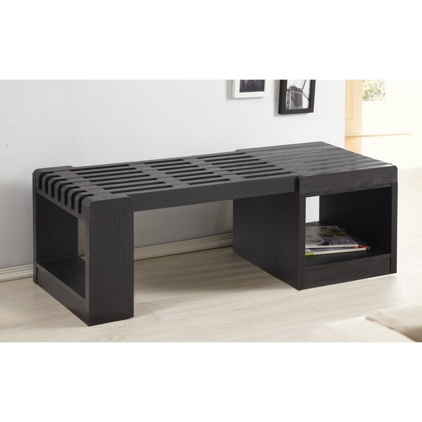 Furniture of America Liberal Contemporary Expandable Coffee Table/ Bench