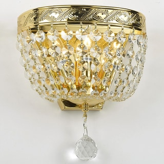 Gallery All Crystal Gold Wall Sconce