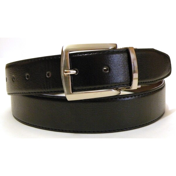 Men's Genuine Leather Reversible Belt