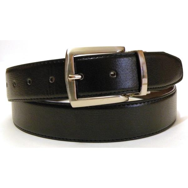 Men's Genuine Leather Reversible Belt
