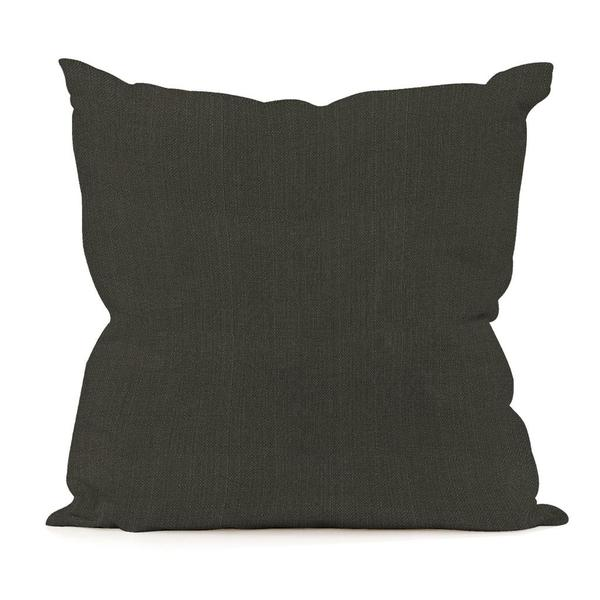 Sterling Charcoal Square Decorative Pillow