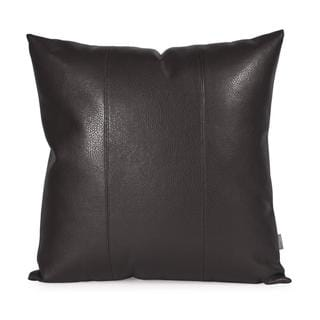 Avanti Black Square Decorative Pillow