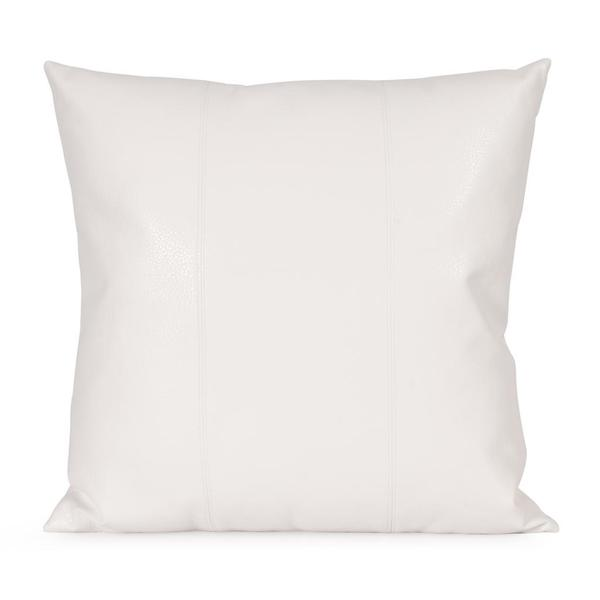 Avanti White Square Decorative Pillow