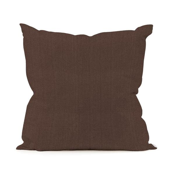 Sterling Chocolate Pillow (16 x 16)