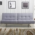 Salvador Grey Tufted Sofa Bed