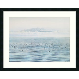 Jeane Duffey 'Migrating Ducks' Framed Art Print