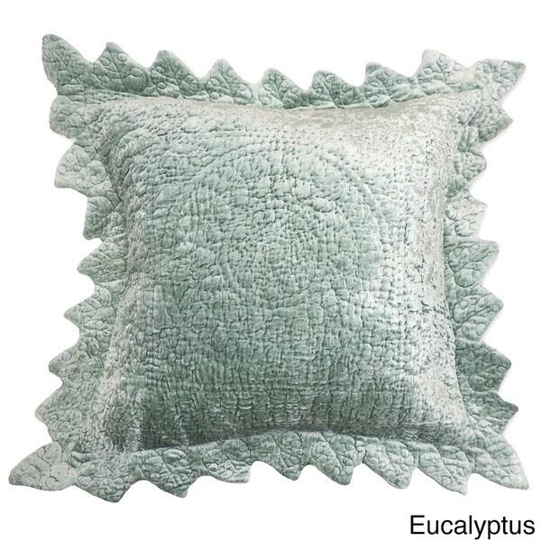 Tucscan Velvet Cotton Euro Sham