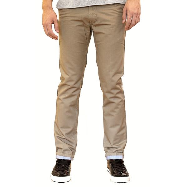 Something Strong Men's Khaki Basic Chino Pants