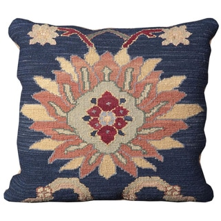 Mina Victory Nourmak Blue 20 x 20-inch Decorative Pillow by Nourison