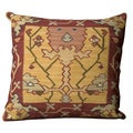 Mina Victory Samarkand Yellow 20x 20-inch Square Decorative Pillow by Nourison