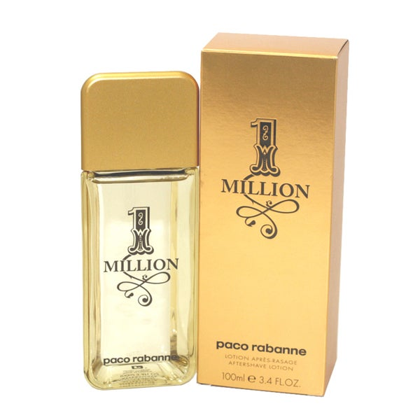 Paco Rabanne 1 Million Men's 3.4-ounce Aftershave Lotion