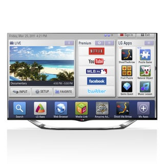 "LG 60LA8600 60"" 240Hz LED 3D Smart TV with Built in Camera"