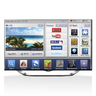 "LG 55LA8600 55"" 1080p 240Hz 3D Smart LED TV with Built in Camera"