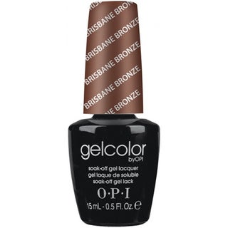 OPI Gelcolor Brisbane Bronze Soak-Off Gel Lacquer