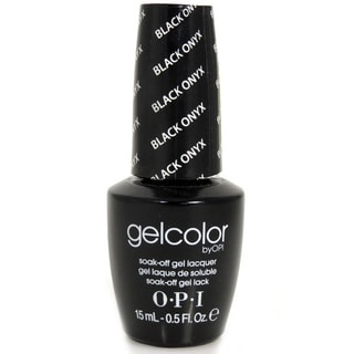 OPI Gelcolor Black Onyx Soak-Off Gel Lacquer