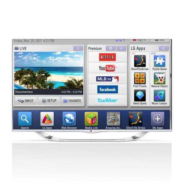 """LG 60LA7400 60"""" 3D 1080p LED-LCD TV - 16:9 - HDTV 1080p - 240 Hz"""