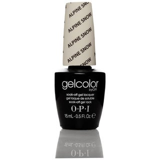 OPI Gelcolor Alpine Snow Soak-Off Gel Lacquer