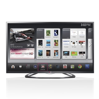 "LG 60GA6400 60"" 3D 1080p LED-LCD TV - 16:9 - HDTV 1080p - 120 Hz"
