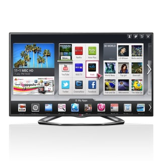 "LG 50LA6200 50"" 1080p 120Hz 3D LED Smart TV"