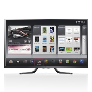 "LG 55GA6400 55"" 3D 1080p LED-LCD TV - 16:9 - HDTV 1080p - 120 Hz"