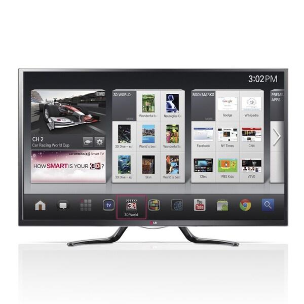 "LG 50GA6400 50"" 1080p 120Hz 3D LED Google TV"