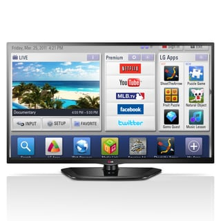 "LG 55LN5700 55"" 1080p 120Hz LED Smart TV"