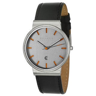 Skagen Men's Stainless Steel Case Watch