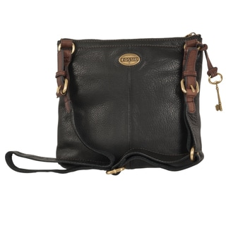 Fossil 'Explorer' Leather Cross-body Bag