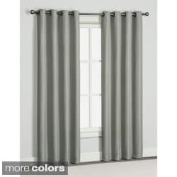 Brooke 84-inch Grommet Curtain Panel Pair