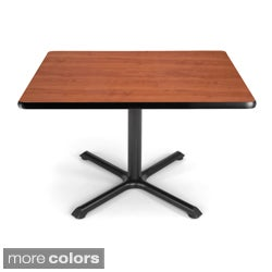 OFM XT 36-inch Square Table with Black Base