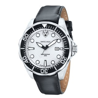 Swiss Eagle Men's SE Ballast White Black Watch