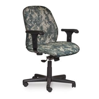 Allegra ACU Digital Camo Mid-Back Management Chair