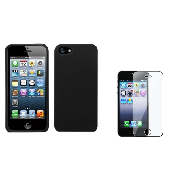 INSTEN Phone Case Cover/ Screen Protector for Apple iPhone 5