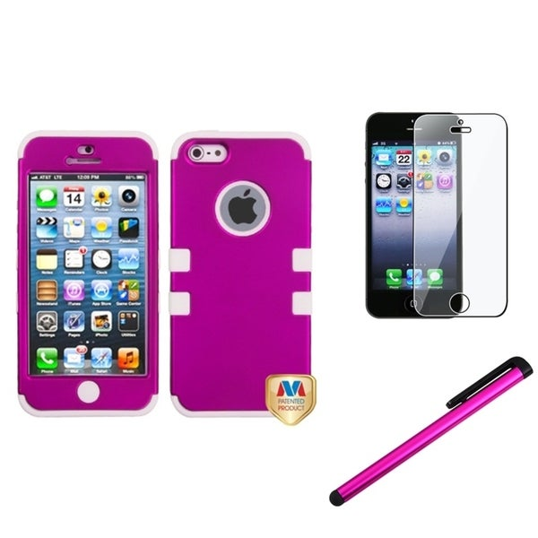 INSTEN Phone Case Cover/ Protector/ Stylus for Apple iPhone 5