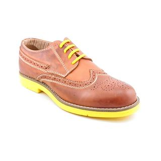 Steve Madden Men's 'Jazzman' Tan Leather Oxford Shoes