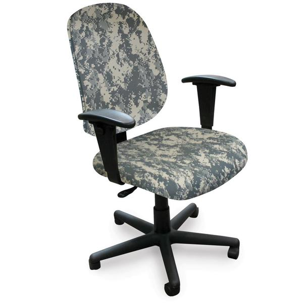 Allegra Mid-Back Adjustable-Height Task Chair