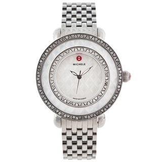 Michele Women's 'Cloette' Camee Limited Edition Diamond-accented Watch