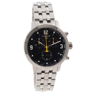 Tissot Men's T0554171105700 PRC 200 Round Silvertone Bracelet Watch