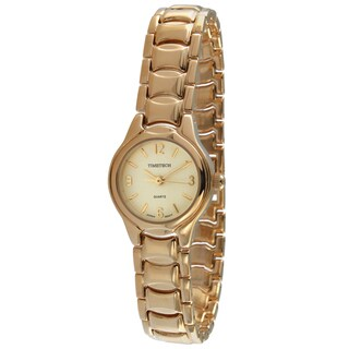 Timetech Women's Goldtone Watch