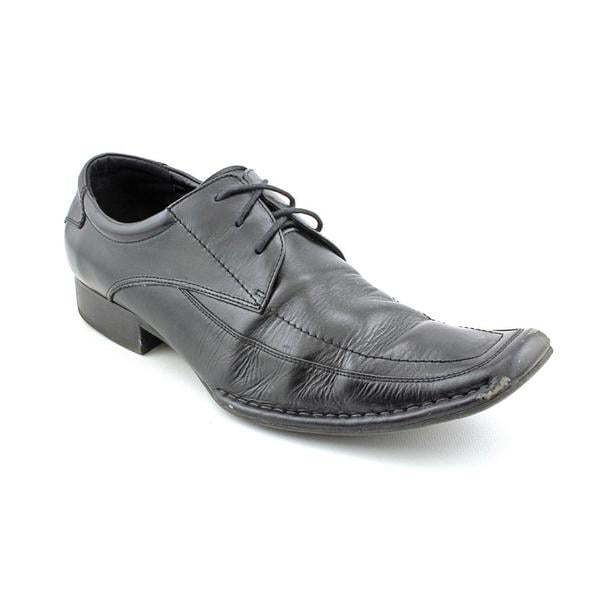 Steve Madden Men's 'Buff' Leather Squared Oxfords
